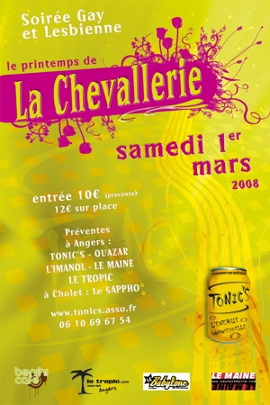 News letter Chevallerie 01/03/08 Tonic s