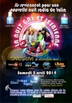 News letter Avril 2014 EVENEMENT : La nuit Gay est de retour