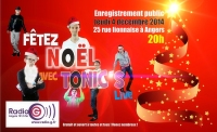 News letter Decembre 2014 Enregistrement Tonic's Live